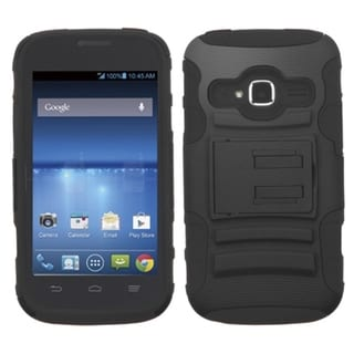 BasAcc Stand Rugged PC Silicone Hard Hybrid Case for ZTE Concord II Z730