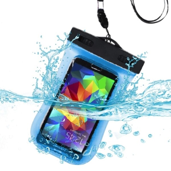INSTEN Clear Universal Water Resistant Bag with Sports Armband Lanyard