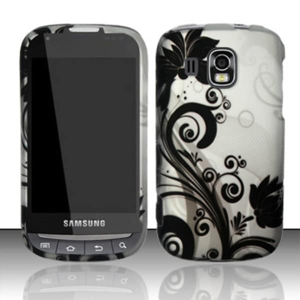 INSTEN Pattern Dust Proof Rubberized Hard Plastic Phone Case Cover for Samsung Transform Ultra M930