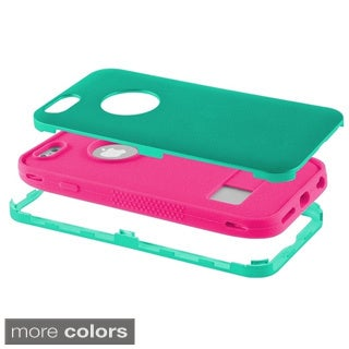 BasAcc Non-slip Grip 3-piece Silicone PC Hybrid Case for Apple iPhone 6 4.7-inch