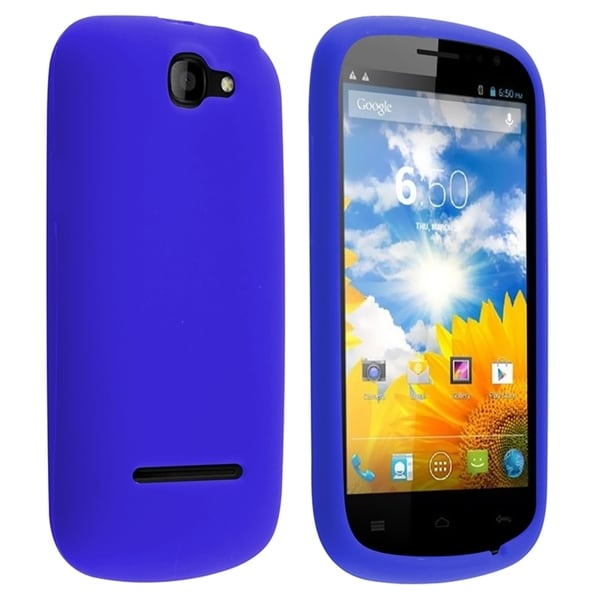 INSTEN Colorful Soft Silicone Rubber Skin Phone Case Cover for BLU Dash 4.5 D310