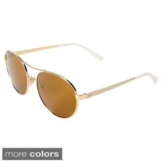Tory Burch Women's TY6037 Round Sunglasses