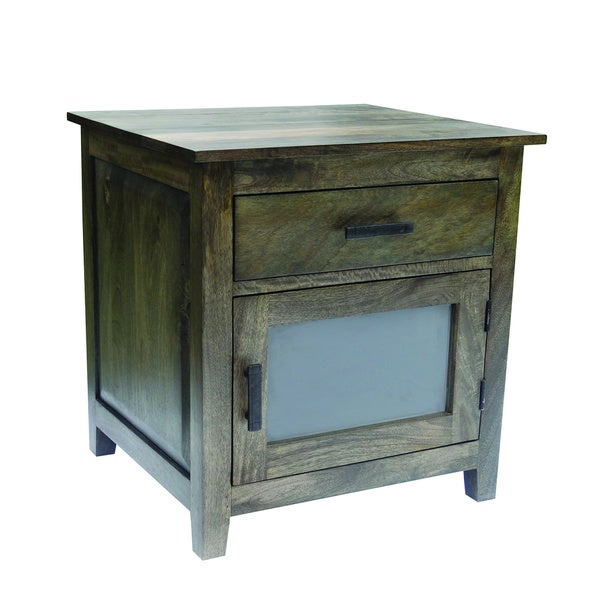 Charcoal Green Cabinet