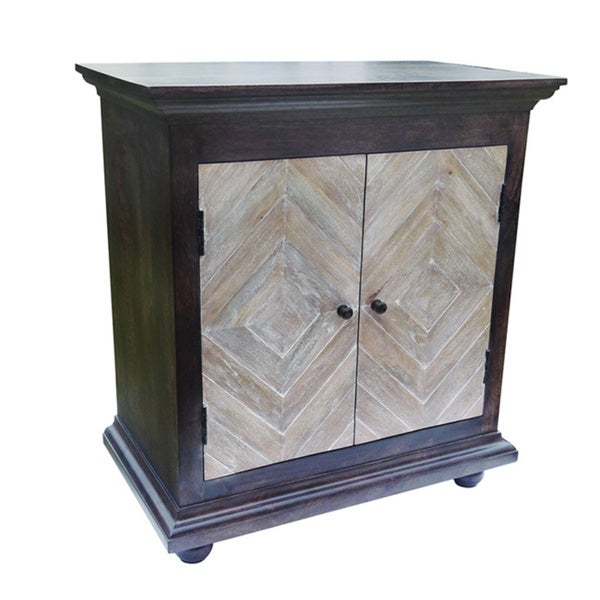 Wide Body Black and Light Cabinet