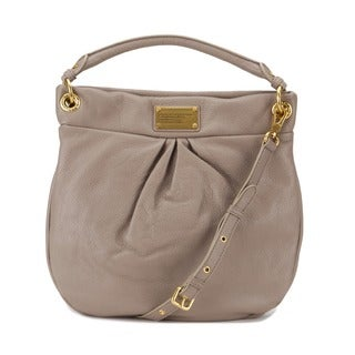 Marc by Marc Jacobs Classic Q Hillier Hobo- Cement