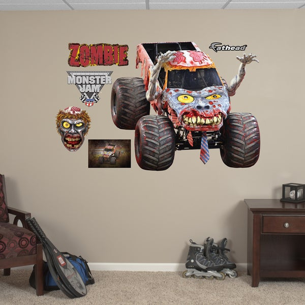 Fathead Monster Jam 'Zombie' Decals