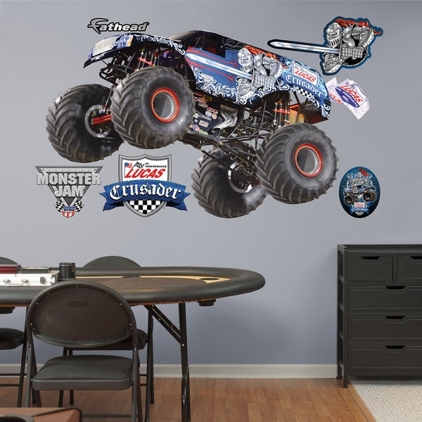 Fathead Monster Jam 'Crusader' Decals