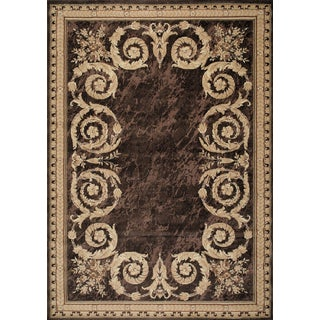 Kodachrom Cervantes Brown Area Rug (7'10 x 10'6)