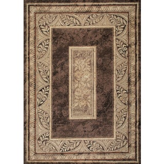 Kodachrom Barrymore Light Brown Area Rug (7'10 x 10'6)