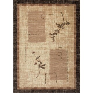 Kodachrom Silken Canvas Cream Area Rug (7'10 x 10'6)