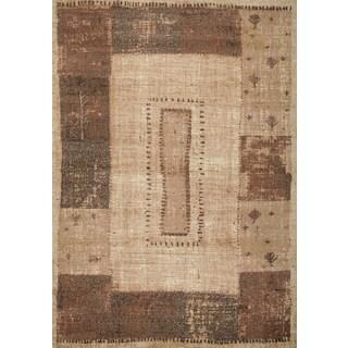 Kodachrom Liesel Taupe Area Rug (5'3 x 7'2)