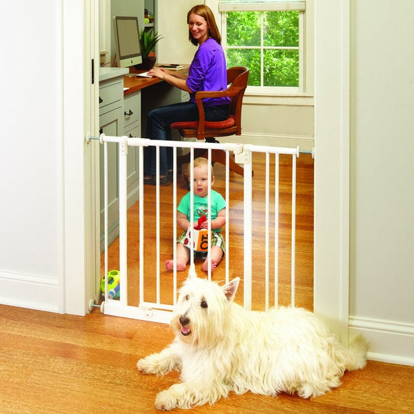 North States Easy-close Wall Mount Gate