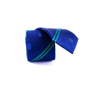 Southern Gents Men's 'Savannah' Navy Slim Silk Tie