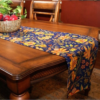 Blue Valentina Table Runner (India)