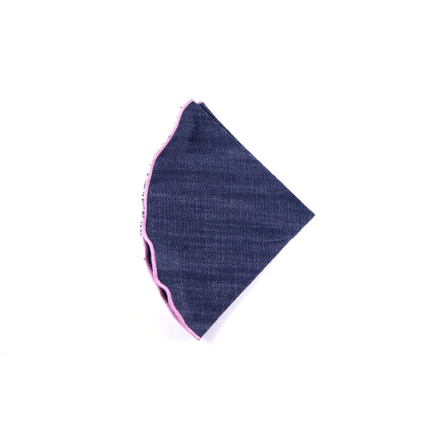 Southern Gents 'Rogue' Blue Denim Pocket Round