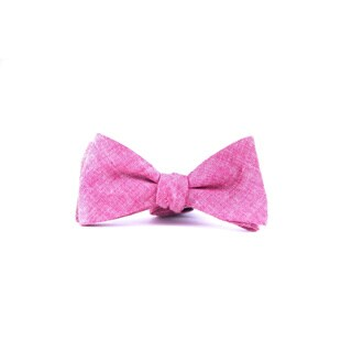Southern Gents Men's 'Salmon' Pink Bowtie