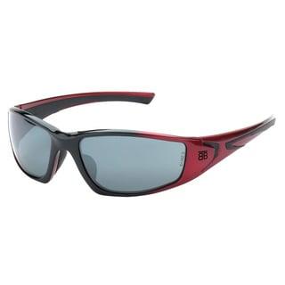 Be the Ball Men's 1030 Series Red Sport Frame Sunglasses