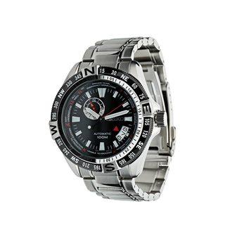 Seiko Mens' SSA095K1 Superior Automatic Black Dial Watch