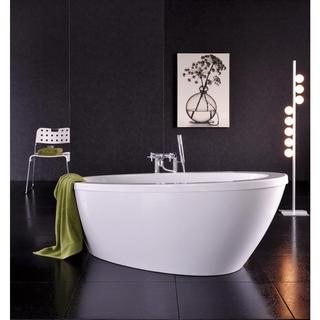 Aquatica Silence Freestanding White Lucite Acrylic Bathtub