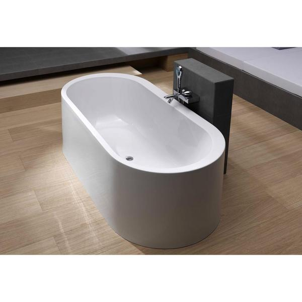 Aquatica Istanbul Innovation White Freestanding Lucite Bathtub