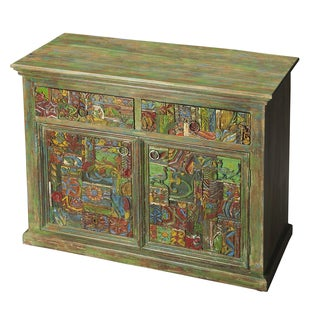 Exotic Water Colors Cabinet