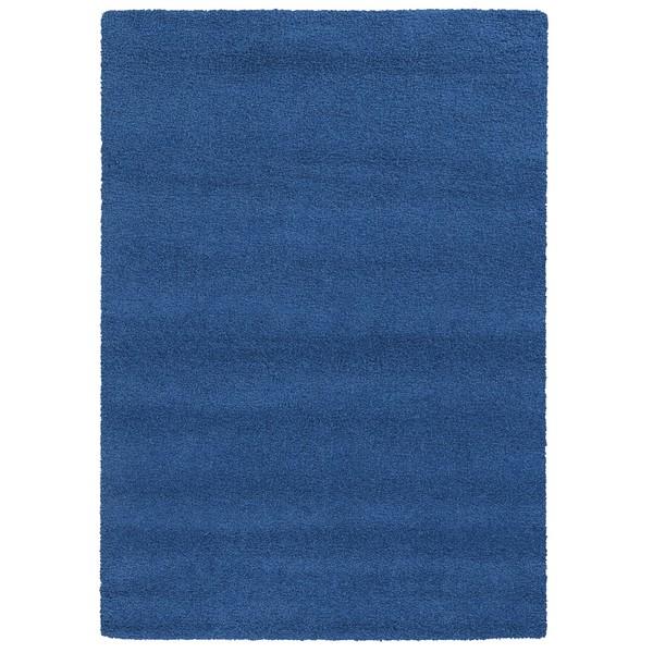 Pantone Universe Focus Shag Blue Rug (9'10 x 12'10)