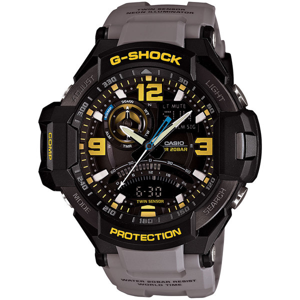 Casio Men's GA-1000-8A G-Shock Black Watch