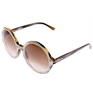 Tom Ford Women's 'Carrie FT 0268 62F' Oval Sunglasses