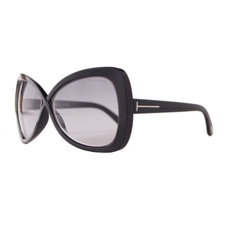 Tom Ford Women's 'Jade FT0277 01B' Cross-over Butterfly Sunglasses