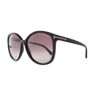 Tom Ford Women's 'Alicia FT0275 01F' Round Sunglasses