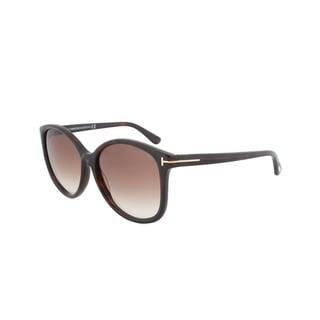 Tom Ford Women's 'Alicia FT0275 52F' Round Sunglasses