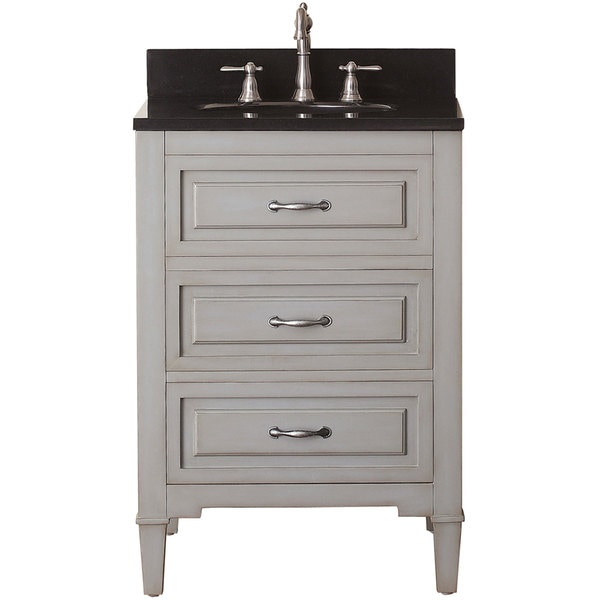 Beautiful Collection WCVW00924SWHIVGS2M24 Centra 24 Inch Single Bathroom Vanity