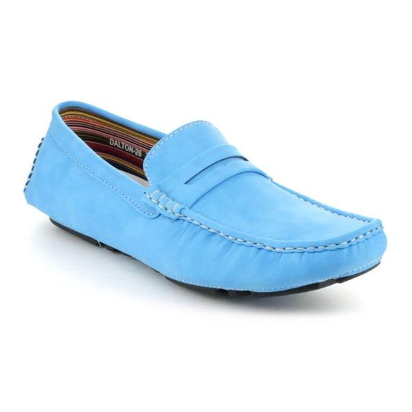 J's Awake Men's 'Dalton-26' Slip-on Moccasin Loafers
