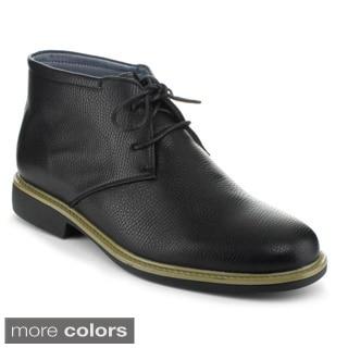 J's Awake Men's 'Alan-16' Lace-up Ankle Oxford Shoes