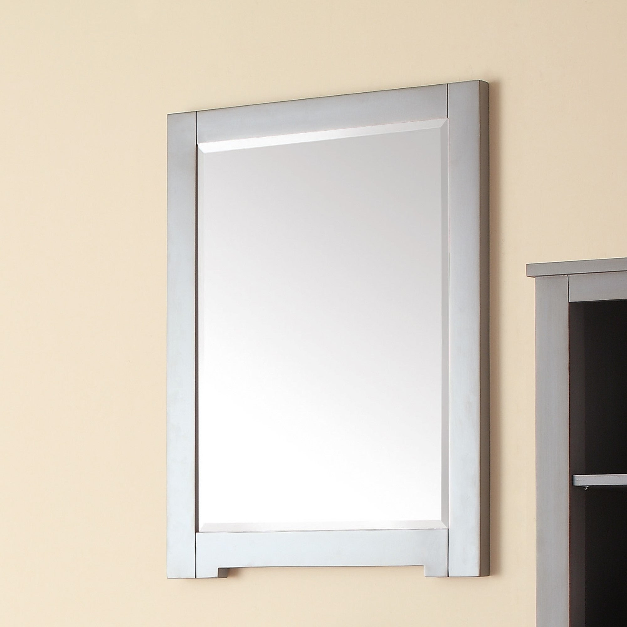 Overstock.com Avanity Kelly Grey/ Blue 24-inch Mirror at Sears.com
