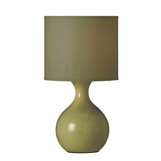 Pistachio Ceramic 1-light Accent Lamp