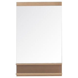Avanity Elle 22-inch Mirror in Pear Wood