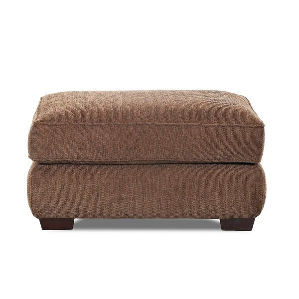 Made to Order Purelife Chatham Dark Brown Ottoman