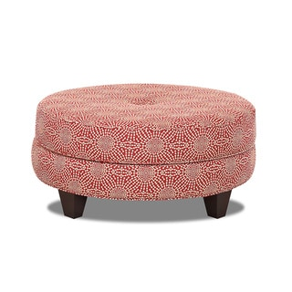 Made to Order Purelife Patty Red Ottoman