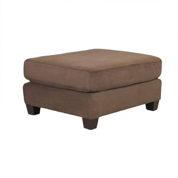 Made to Order Purelife Brown Drake Ottoman