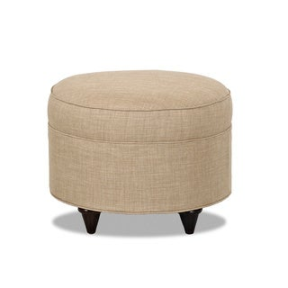 Made to Order Purelife Orbits Contemporary Taupe Ottoman