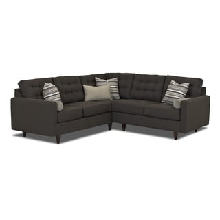 Made to Order Purelife Weaton Charcoal Sectional