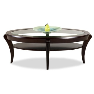 Purelife Bryant Deep Merlot Cocktail Table