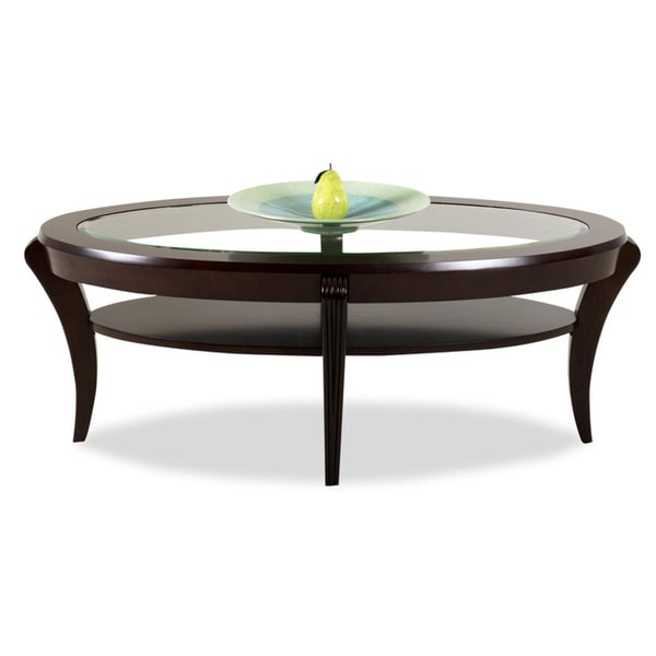 Purelife Bryant Deep Merlot Cocktail Table Overstock Shopping Great Deals On Klaussner