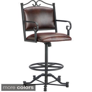 Sherwood Tilt Swivel Counter Stool with Arms