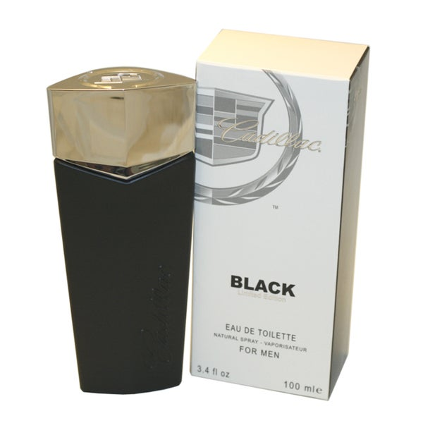 Cadillac Black Men's 3.4-ounce Eau de Toilette Spray