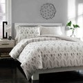 City Scene Grayson Reversible Cotton 3-Piece Duvet Cover Set