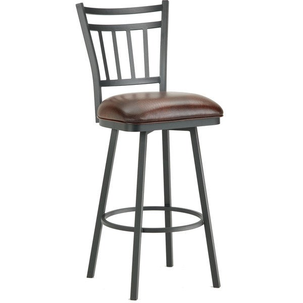 Iron Mountain Swivel Bar Stool