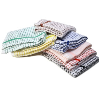 Classic Check Egyptian Cotton Kitchen Towels (Set of 3)