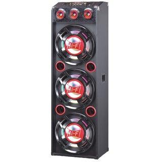 QFX Pro Audio SBX-412300BT Speaker System - Wireless Speaker(s) - Red